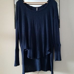 FREE PEOPLE high/low thermal top